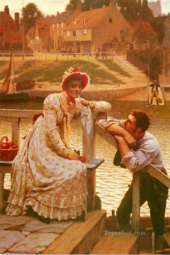Edmund Works - Courtship historical Regency Edmund Leighton
