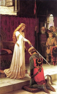Edmund Works - The Accolade historical Regency Edmund Leighton