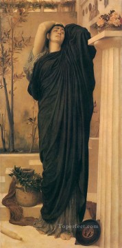 Lord Frederic Leighton Painting - Electra at the Tomb of Agamemnon 1868 Academicism Frederic Leighton