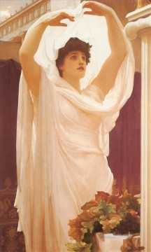 cat Art Painting - Invocation Academicism Frederic Leighton