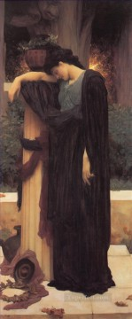 Lachrymae Academicism Frederic Leighton Oil Paintings