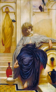 Lord Frederic Leighton Painting - Lieder Ohne Worte 1860 Academicism Frederic Leighton