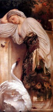 Lord Frederic Leighton Painting - Odalisque 1862 Academicism Frederic Leighton