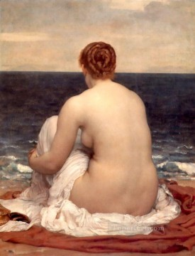 Lord Frederic Leighton Painting - Psamathe 1880 Academicism Frederic Leighton