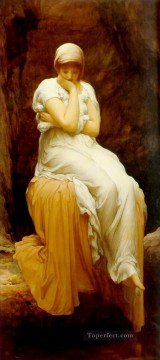 Lord Frederic Leighton Painting - Seated Academicism Frederic Leighton