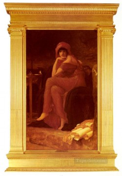 Lord Frederic Leighton Painting - Sibyl Academicism Frederic Leighton