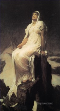 Frederic Art Painting - Spirit of the Summit Academicism Frederic Leighton