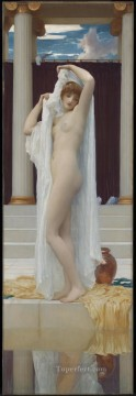 Bath Painting - The Bath of Psyche Academicism Frederic Leighton