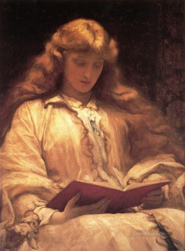 Frederic Art Painting - The Maid with the Yellow Hair Academicism Frederic Leighton