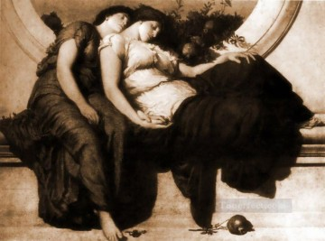 Academicism Frederic Leighton 5 Oil Paintings