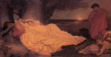 Cymon and Iphigenia Academicism Frederic Leighton Oil Paintings