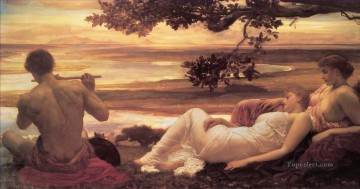 Idyll Academicism Frederic Leighton Oil Paintings