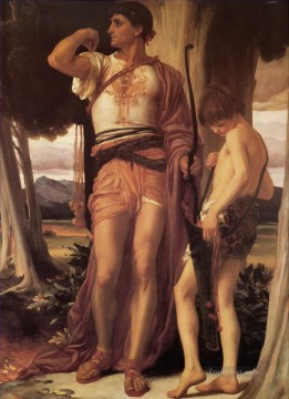 David Art Painting - Jonathans Token to David Academicism Frederic Leighton