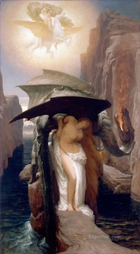 Lord Frederic Leighton Painting - Perseus and Adromeda Academicism Frederic Leighton