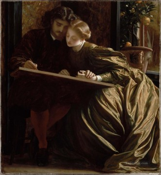 Painters Art - The Painters Honeymoon Academicism Frederic Leighton
