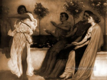 Lord Frederic Leighton Painting - Academicism Frederic Leighton 2