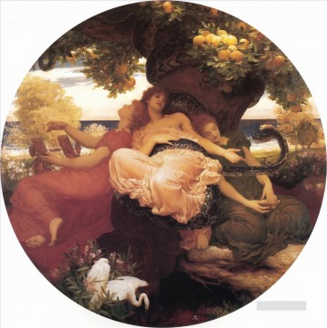 The Garden of the Hesperides Academicism Frederic Leighton Oil Paintings