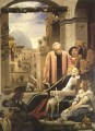 The Death of Brunelleschi 1852 Academicism Frederic Leighton
