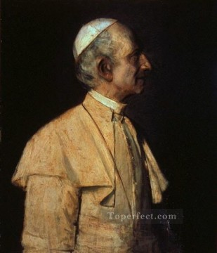 Artworks by 350 Famous Artists Painting - Pope Leo XIII Franz von Lenbach