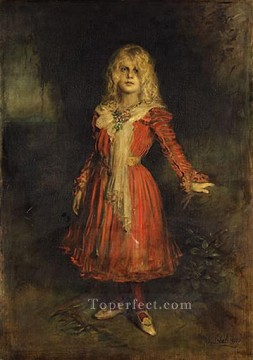 Artworks by 350 Famous Artists Painting - marion lenbach the artists daughter Franz von Lenbach