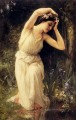 A Nymph In The Forest realistic girl portraits Charles Amable Lenoir