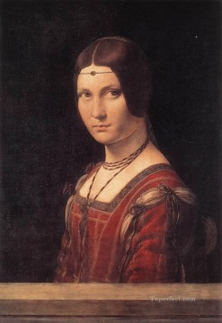 La belle Ferroniere Leonardo da Vinci Oil Paintings