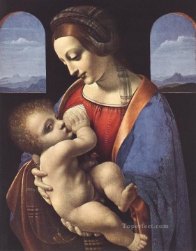 Madonna Litta Leonardo da Vinci Oil Paintings