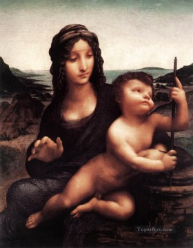 Madonna with the Yarnwinder 1501 Leonardo da Vinci Oil Paintings