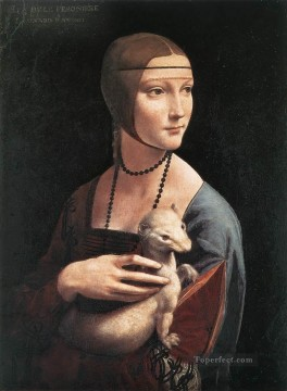 Portrait of Cecilia Gallerani Leonardo da Vinci Oil Paintings