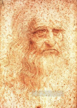 Vinci Oil Painting - Self Portrait Leonardo da Vinci
