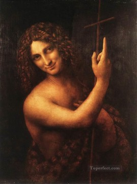 St John the Baptist Leonardo da Vinci Oil Paintings
