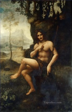 Vinci Oil Painting - Bacchus Workshop Leonardo da Vinci