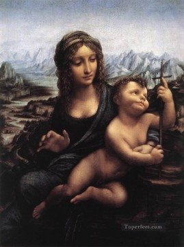 Madonna with the Yarnwinder after 1510 Leonardo da Vinci Oil Paintings
