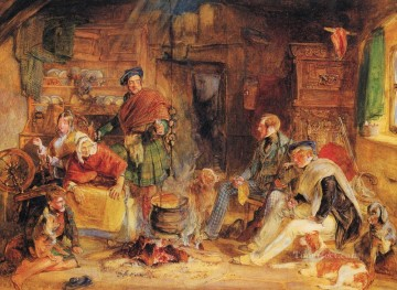 Highland Hospitality Oriental John Frederick Lewis Oil Paintings