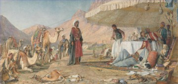 A Frank Encampment In The Desert Of Mount Sinai John Frederick Lewis Oil Paintings