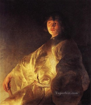 Jan Canvas - Portrait Jan Lievens