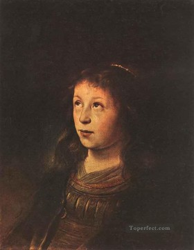 Portrait Of A Girl Jan Lievens Oil Paintings