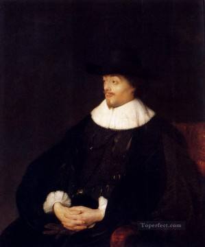 Jan Canvas - Portrait Of Constantijn Huygens Jan Lievens