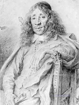 vos - Portrait Of Poet Jan Vos Jan Lievens