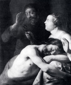 Samson And Delilah Jan Lievens Oil Paintings