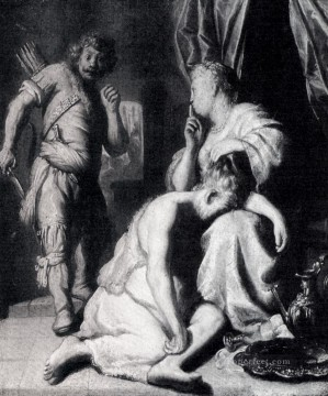 Samson And Delilah1628 Jan Lievens Oil Paintings