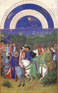 Les Tres Riches Heures Du Duc De Berry Mai Limbourg Jean Oil Paintings
