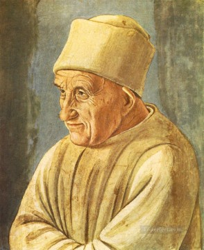 Christian Oil Painting - Portrait of an Old Man 1485 Christian Filippino Lippi