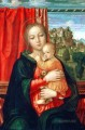 Virgin and child Christian Filippino Lippi