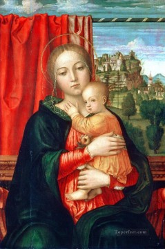 Lippi Deco Art - Virgin and child Christian Filippino Lippi