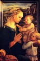 Virgin with children Christian Filippino Lippi