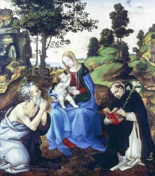 Lippi Deco Art - Holy Family Christian Filippino Lippi