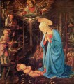 Mary and Child Christian Filippino Lippi