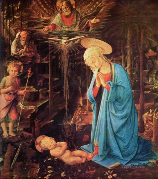 Lippi Deco Art - Mary and Child Christian Filippino Lippi