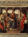 Madonna with Child and Saints 1488 Christian Filippino Lippi